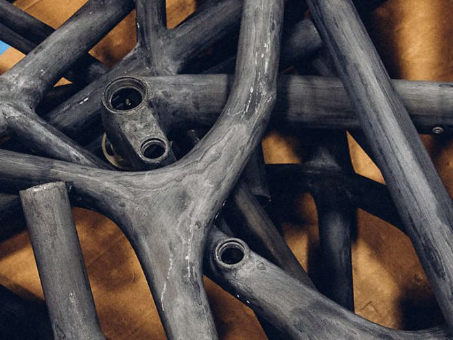 Recycling of carbon frames