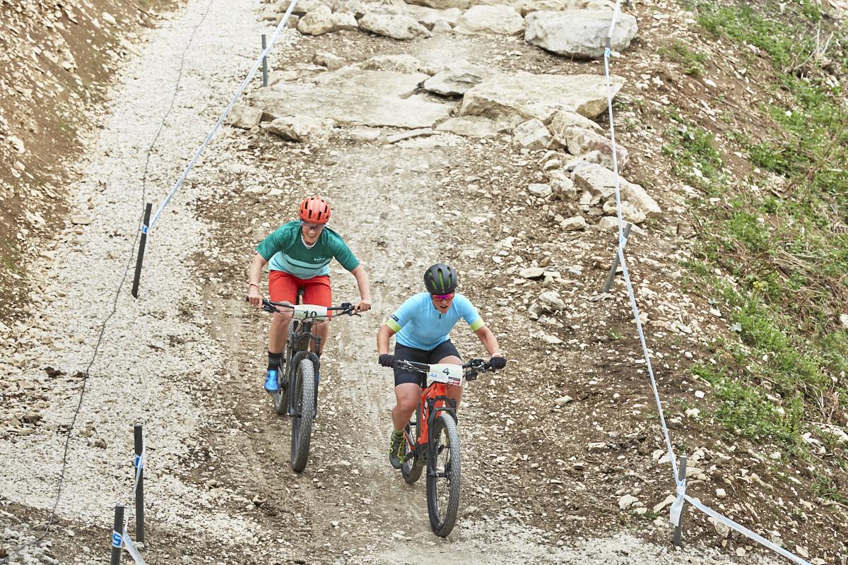 WM-Vorbereitung Albstadt, Nathalie Schneitter, Powerfly, E-Mountainbike
