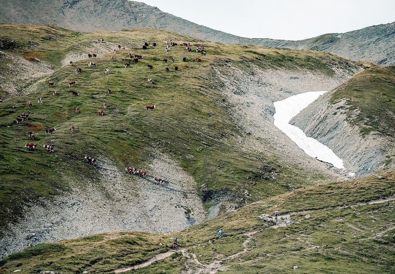 E-Mountainbike, Tour du Mont Blanc, Freerideworldtour, Verbier, Bosch, Nathalie Schneitter, Tracy Moseley