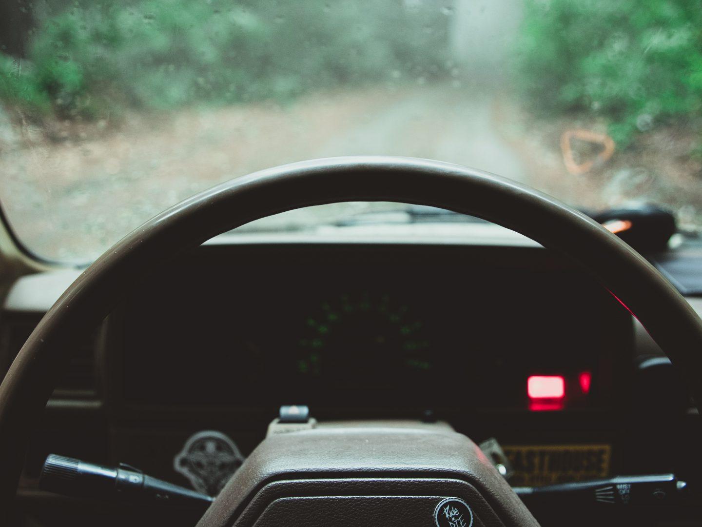 Il volante di Ryan R-Dog