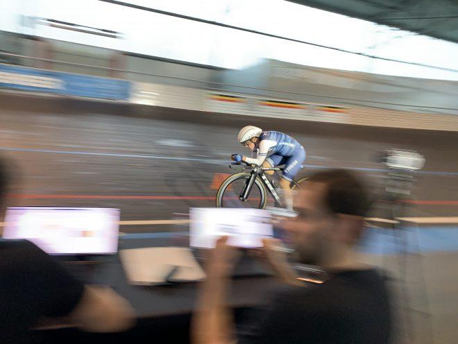 Trek-Segafredo Women's Velodrome Testing
