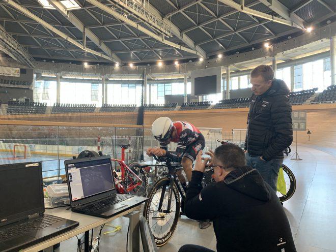 Trek-Segafredo Men's Velodrome Testing