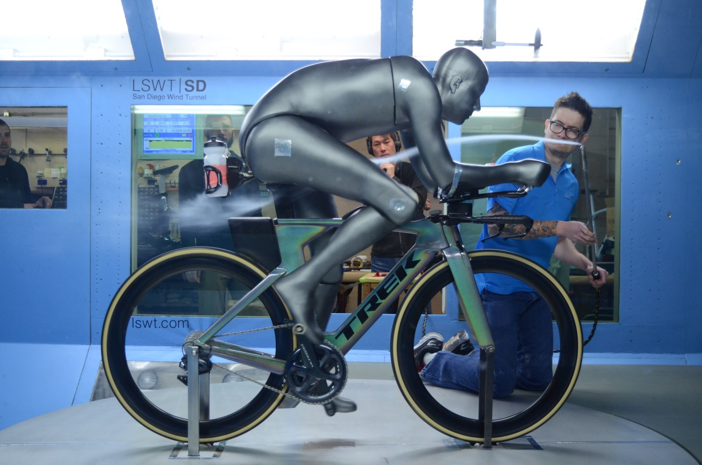 Speed Concept in wind tunnel