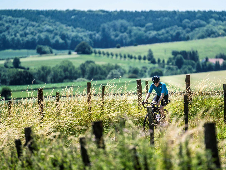 Het glooiende Limburgse landschap