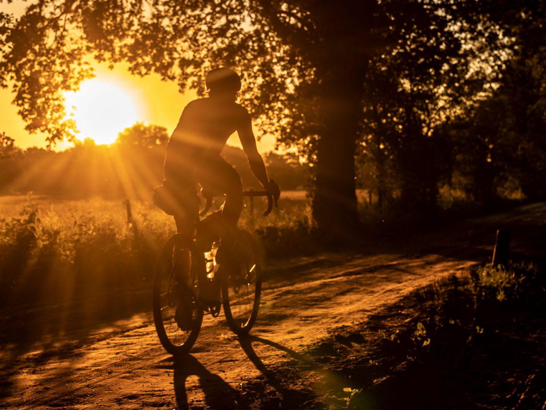 Gravel bij zonsopgang