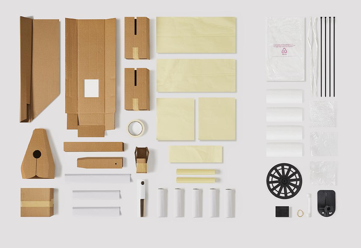 Emballage avec plus de carton et moins de plastique