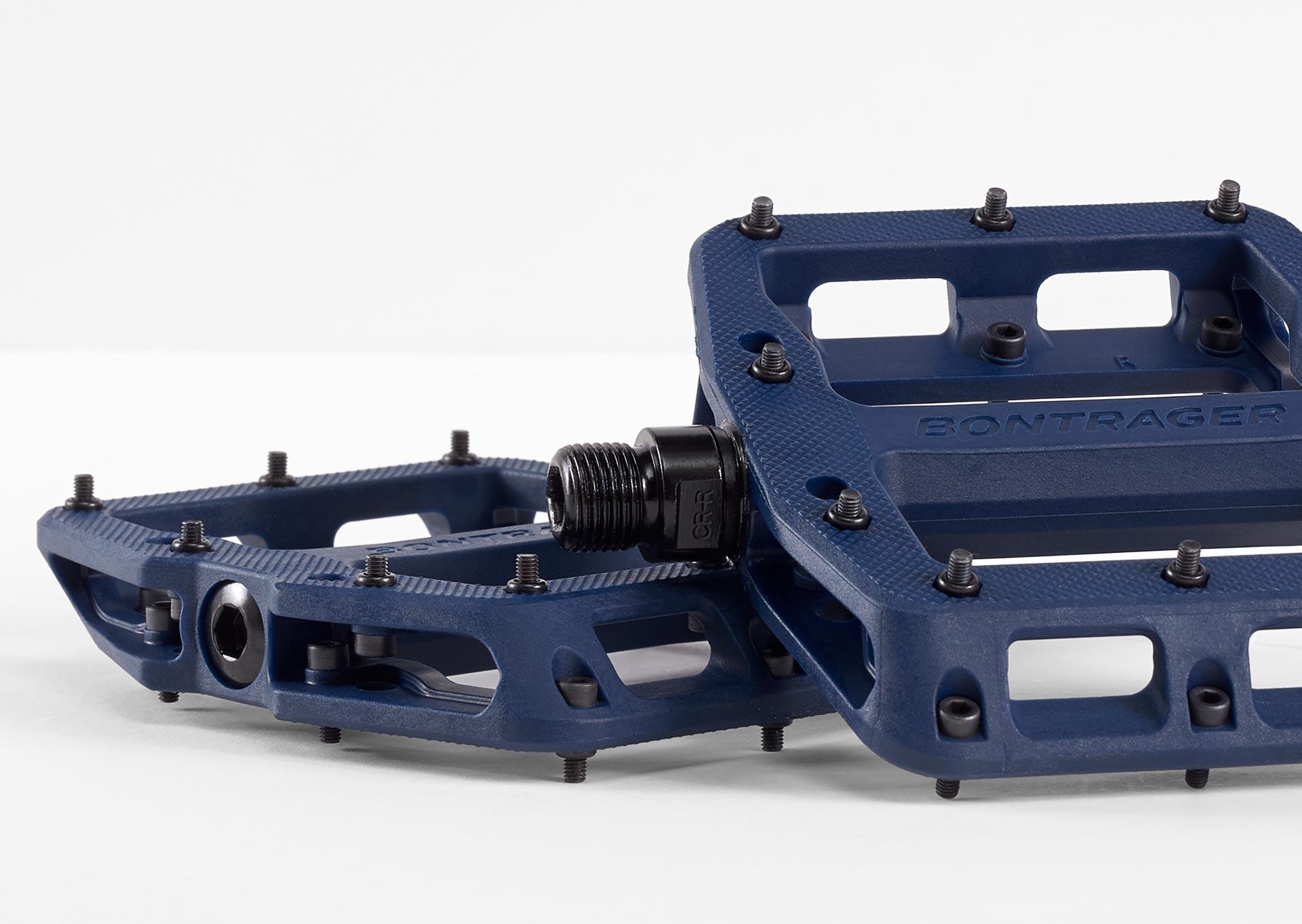 Blue platform pedals