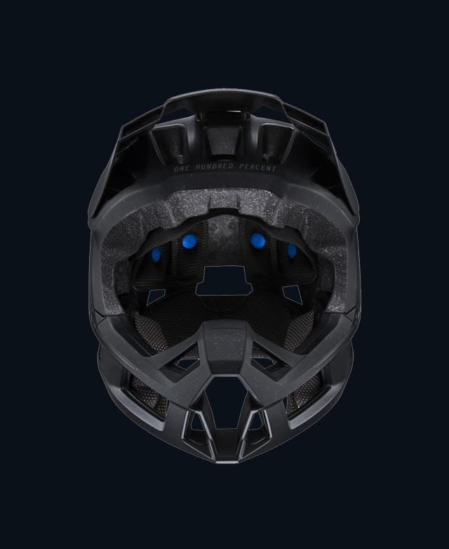 full-face mountain bike helmet